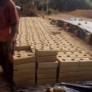 Liberian kindergarten bricks