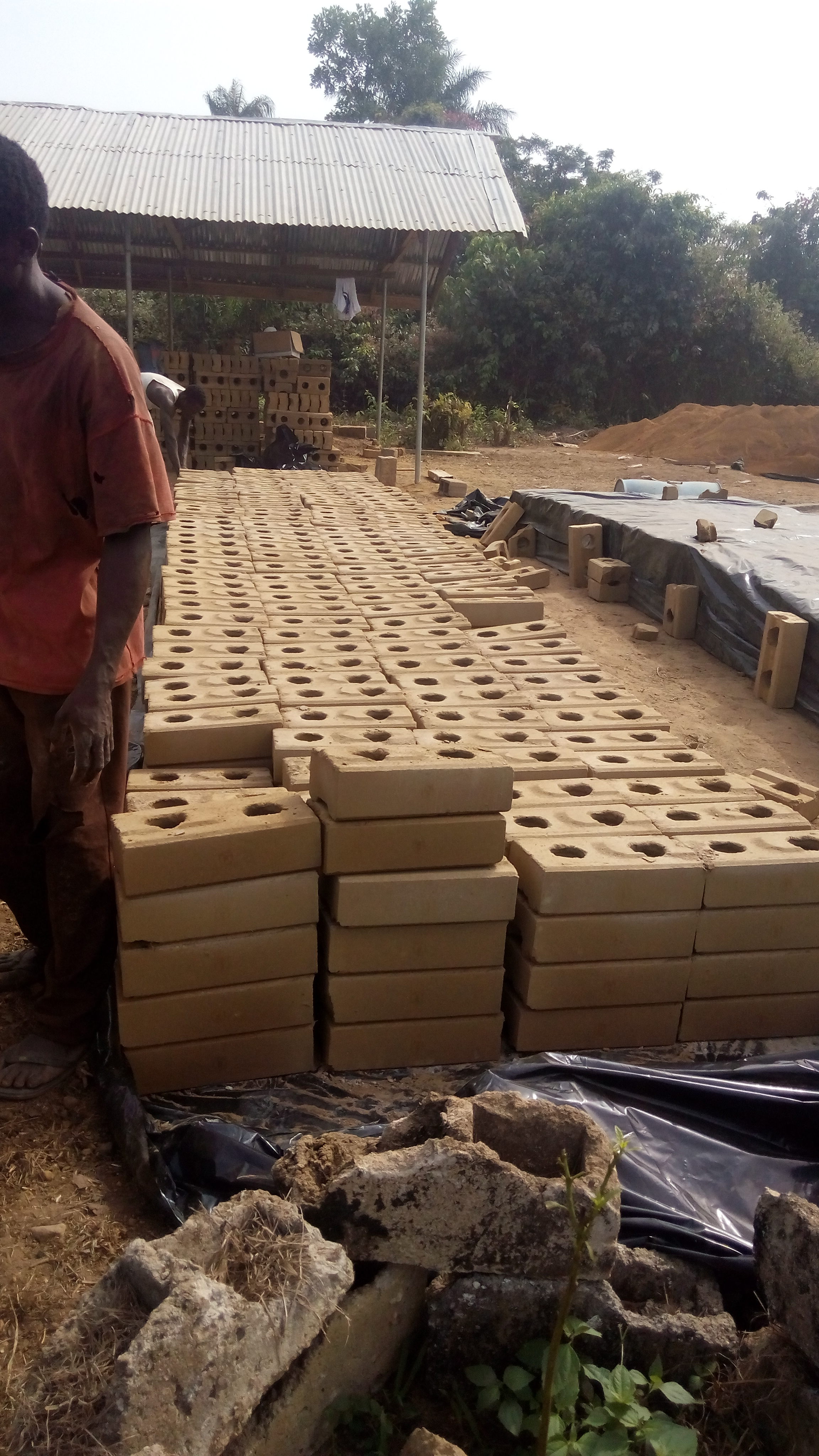Liberian kindergarten bricks