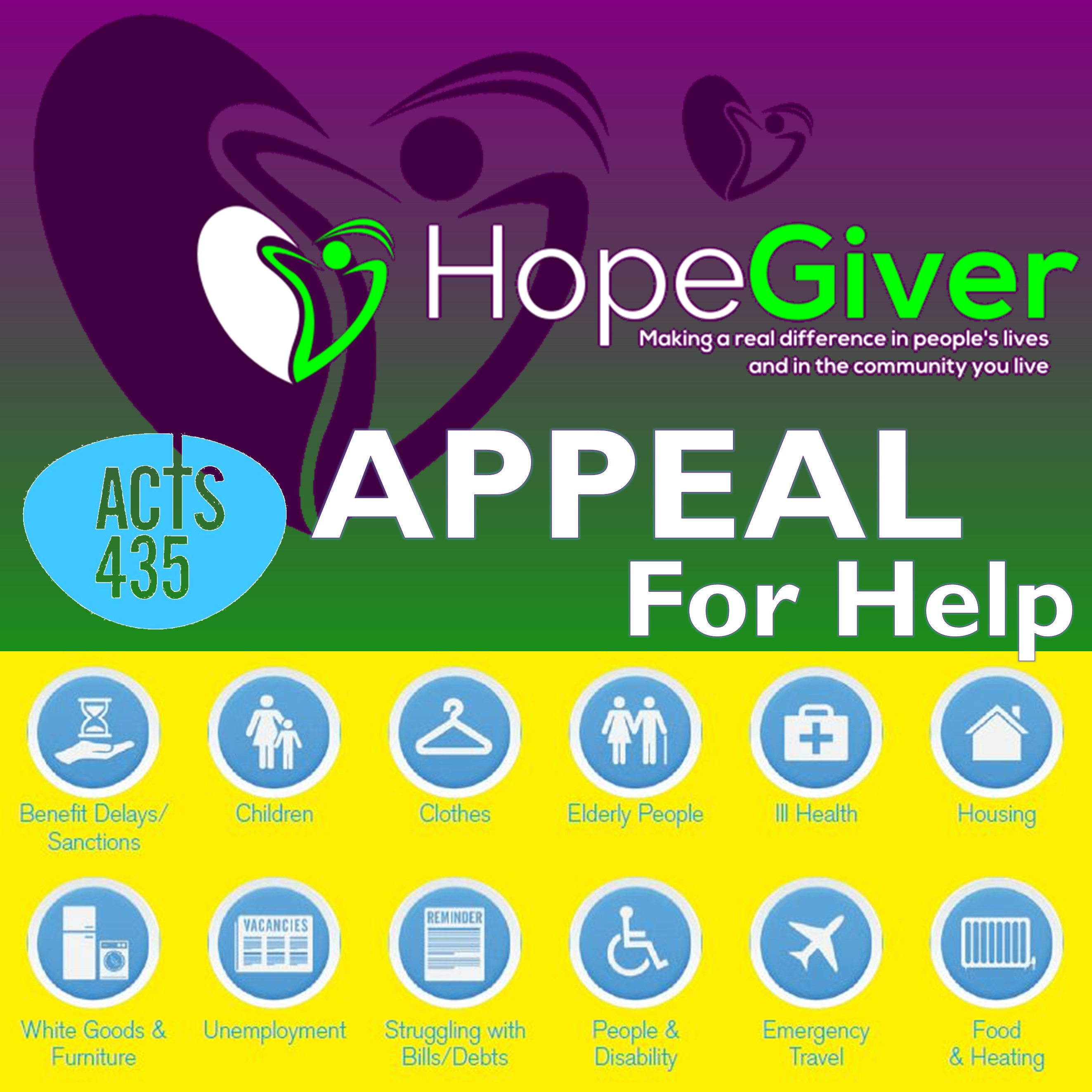 ACTS435 Appeal for Help