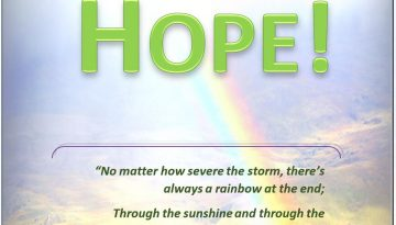 A Little Bit of Hope - front cover