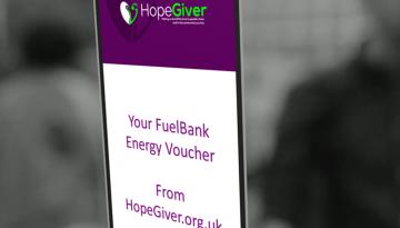 HopeGiver FuelBank Voucher