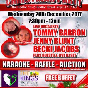 Rhyl Charity Fundraiser - 20th December 2017
