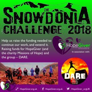 Snowdonia Challenge 2018 - square logo