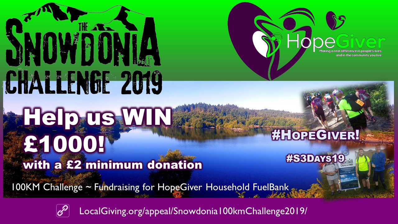 Snowdonia 100KM Challenge 2019