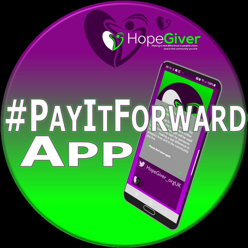 #PayItForward app v.3.1