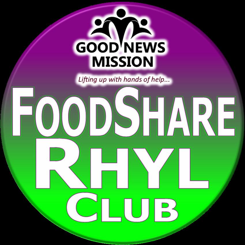 FoodShare Rhyl round logo
